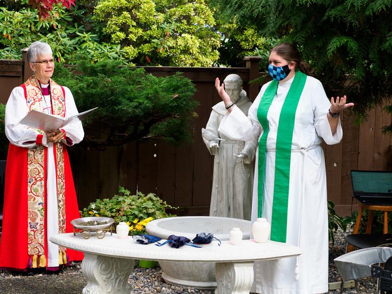 Blessing of the St. Stephen's Pet Memorial Garden