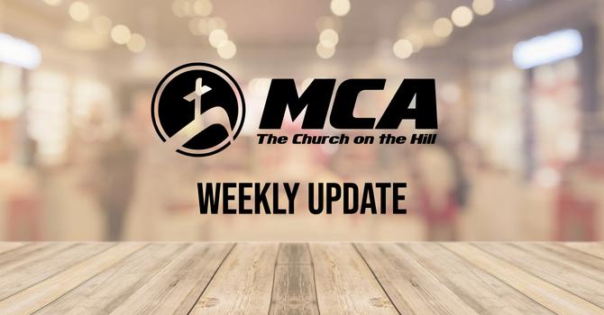 Weekly Update image
