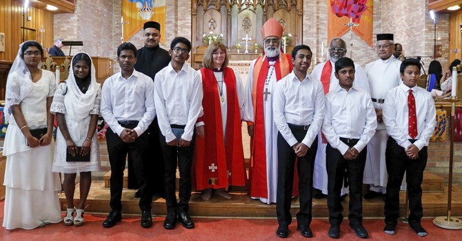 Edmonton Diocese Welcomes Church of South India Moderator