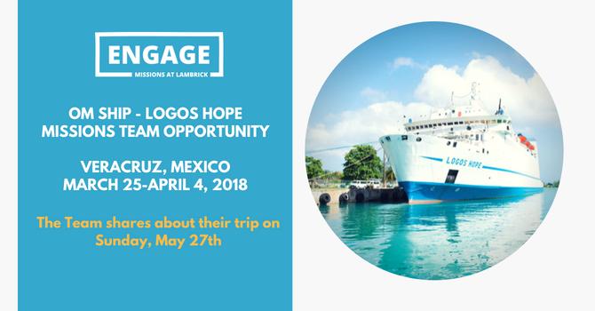 Logos Hope Vision Team