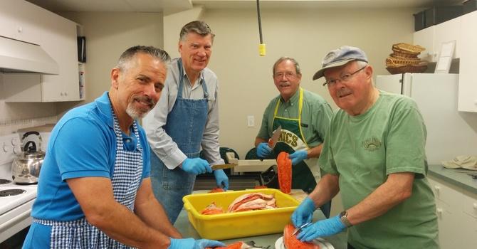 Salmon BBQ photos image