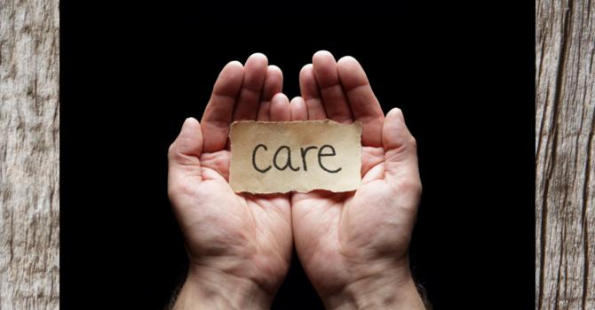 Teach us to care... image