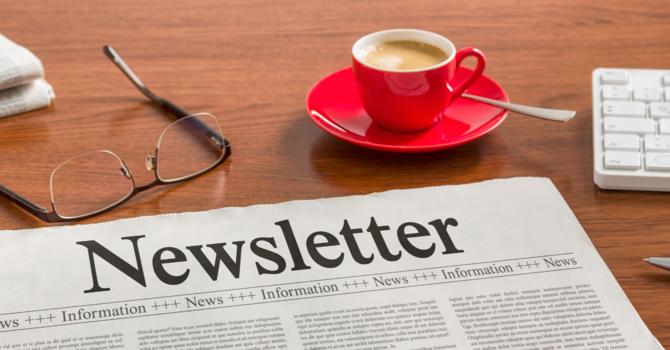 Oct.  2, 2020 Newsletter image