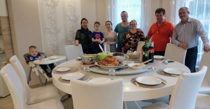 Thanksgiving in Germany... image