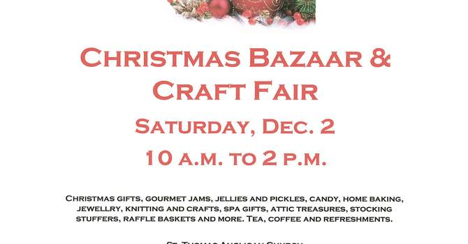 Chistmas Bazaar and Craft Fair