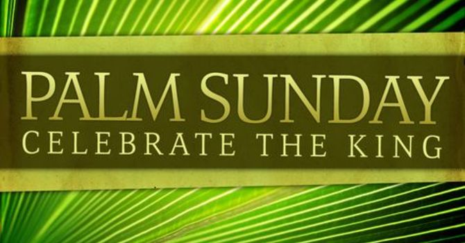 March 25, 2018 Bulletin Palm Sunday image