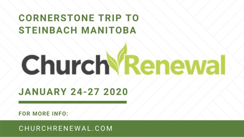 Why Church Renewal?