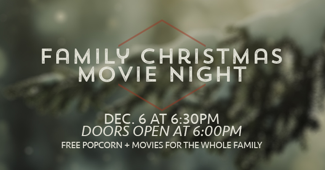 Family Christmas Movie Night