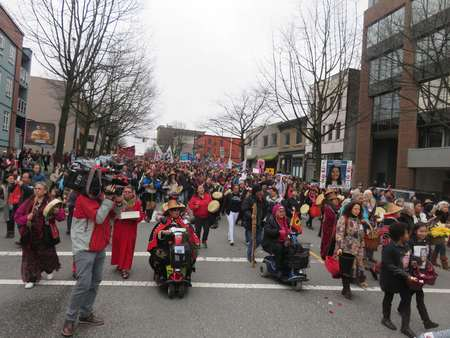 DTES Annual Memorial Women's March