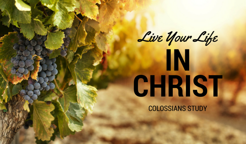 Live your life in Christ - Part 1