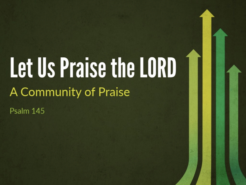 Let Us Praise The Lord
