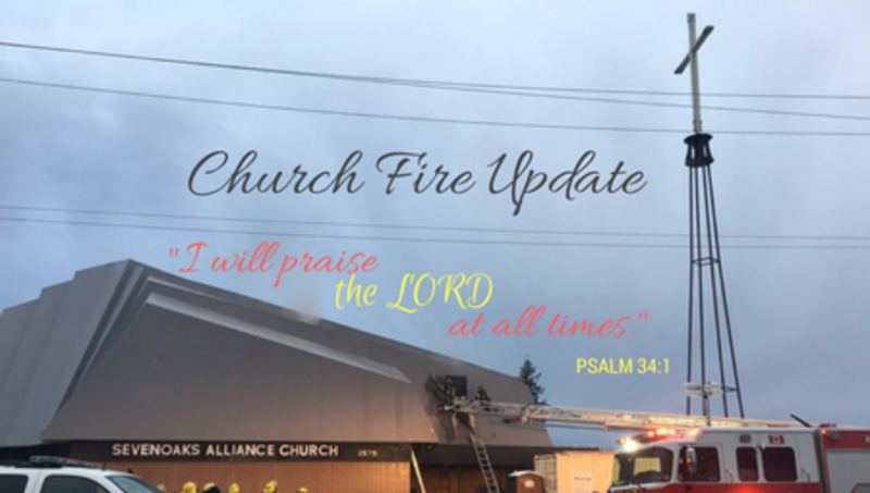 Church Fire Update
