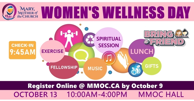 Women's Wellness Day - Register by Oct 9