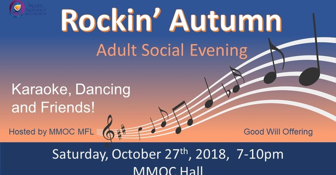 Rockin' Autumn - Adult Social Evening  image