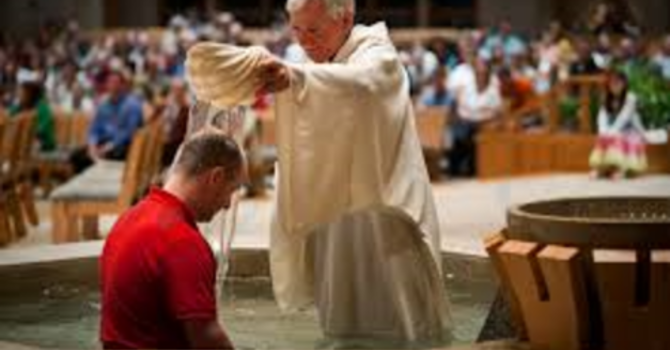 Want to be baptized? image