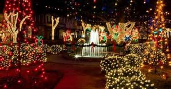 Christmas Lights Tour & Festivities