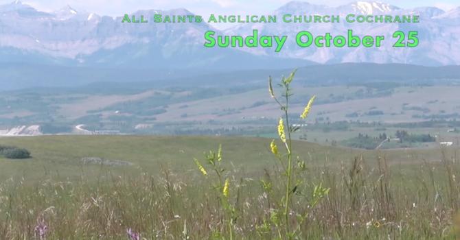 Eucharist Service October 25