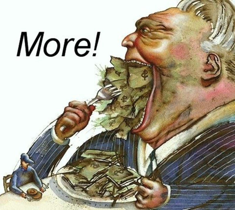 Overcoming Greed