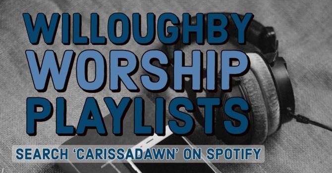Worship Playlists! image