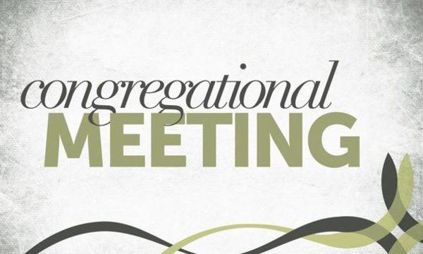 Fall Congregational Meeting