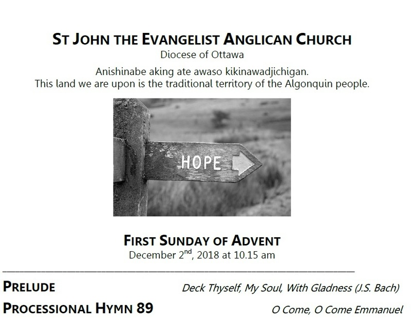 The First Sunday of Advent, Year C
