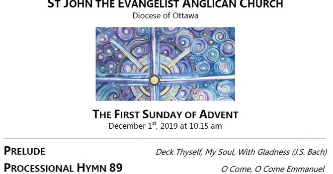 The First Sunday of Advent