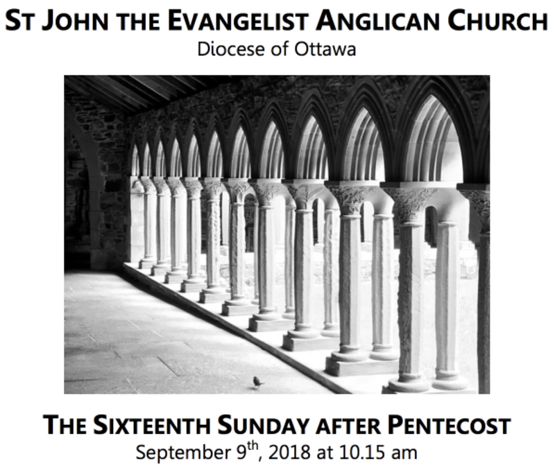 The Sixteenth Sunday after Pentecost