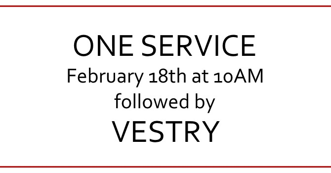One Service February 18 image