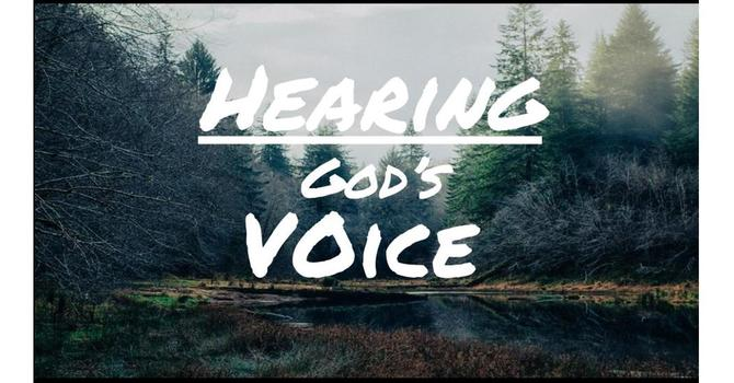 Hearing God' s Voice Pt. 2