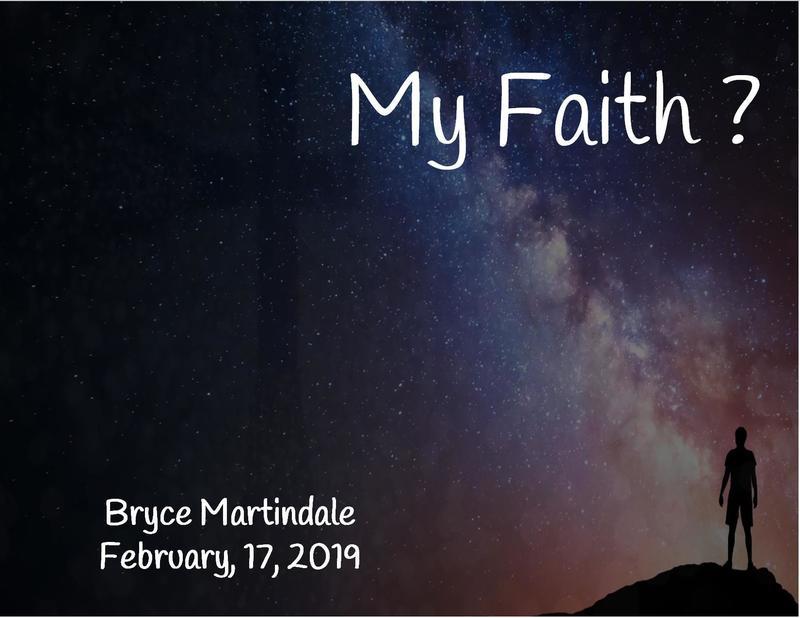 My Faith?