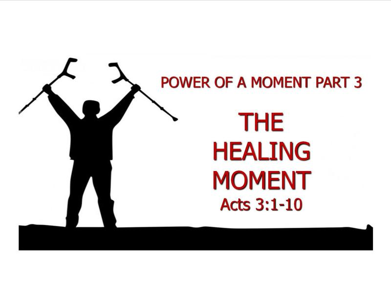 The Healing Moment
