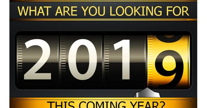 What Are You Looking For in 2019