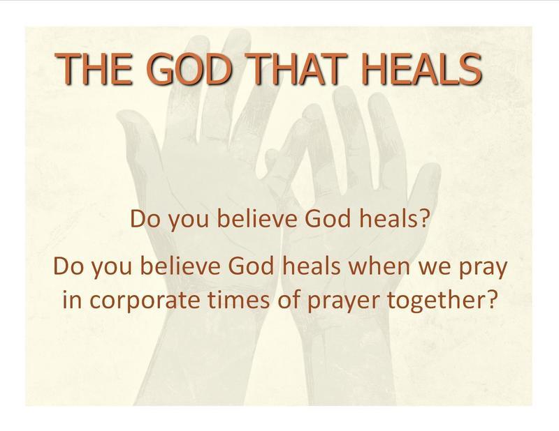 The God That Heals