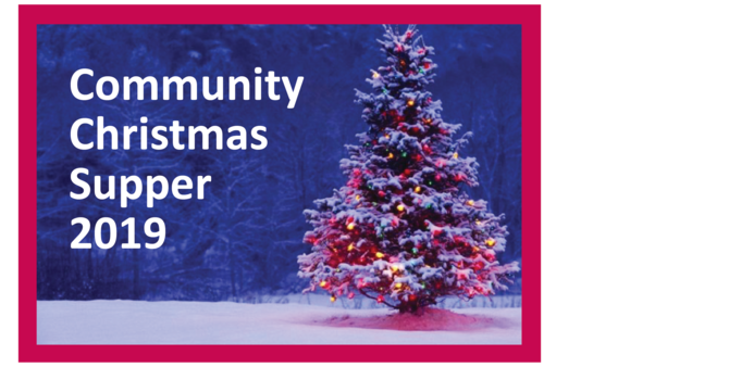 Community Christmas Supper - Now sold out image