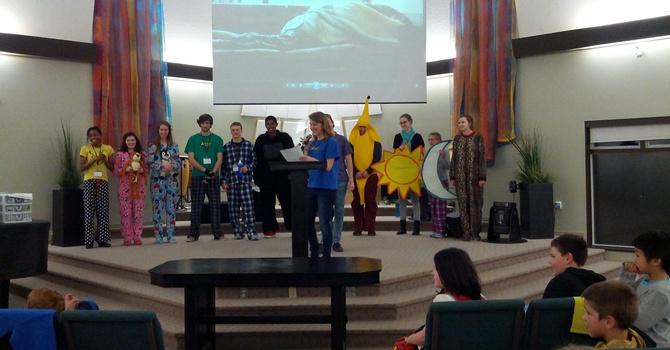 TWU Team Teaches at AWANA image