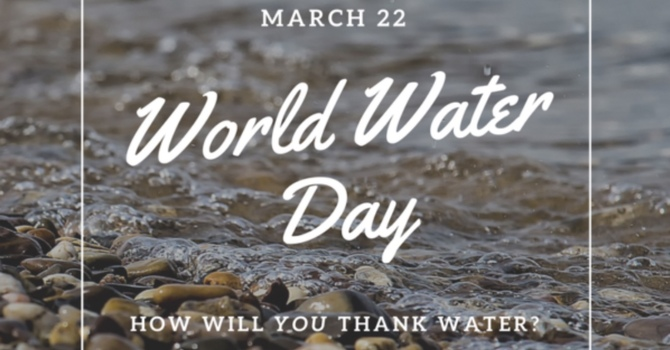 World Water Day   March 22 image