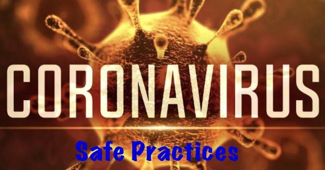 Coronavirus Safe Practices image