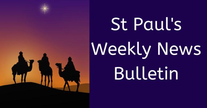 St. Paul's January 5th News Bulletin image