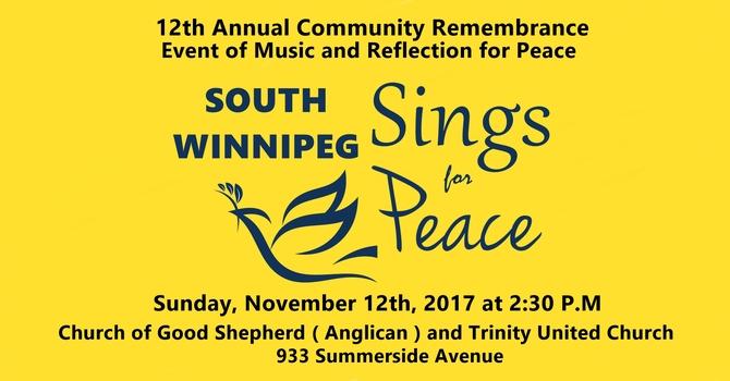 South Winnipeg Sings for Peace - Nov 12