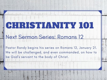 2018 - Christianity 101