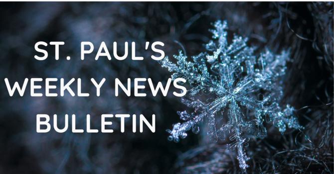 St. Paul's October 25 News Bulletin image