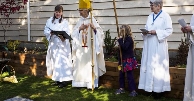 St. Agnes' Welcomes Bishop Skelton for All Saints Eucharist image