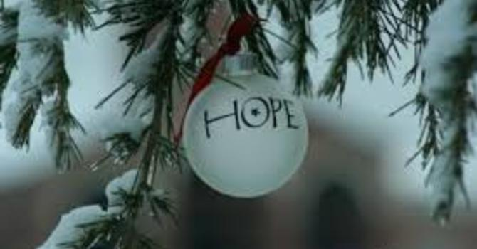 Advent 1 - Hope