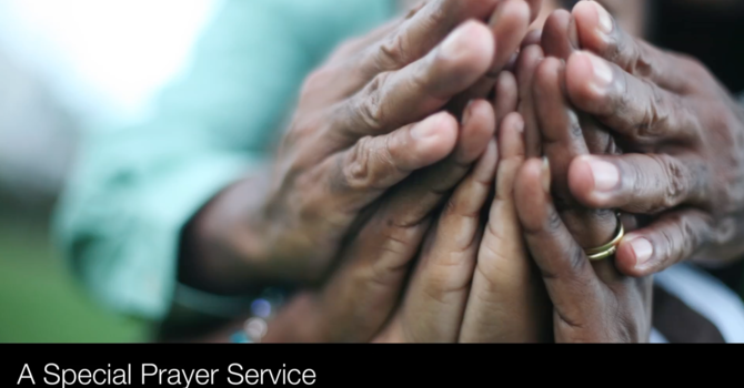 A Special Prayer Service