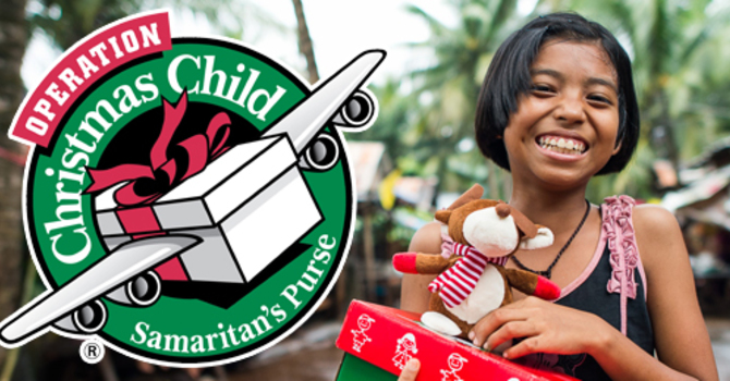 34 Operation Christmas Child boxes made! image