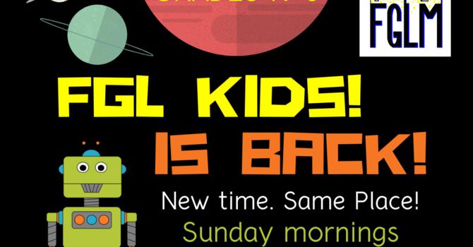 FGL KIDS / SUNDAY SCHOOL image
