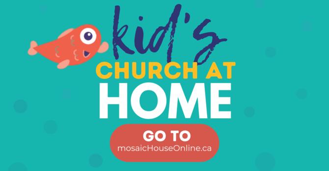 Kid's Church at Home