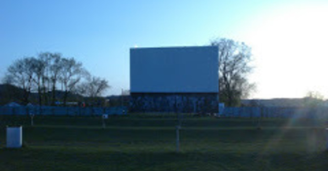 Ecumenical Worship at Drive-in