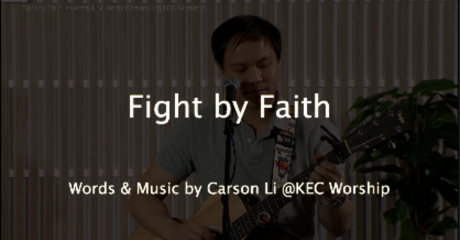 Fight by Faith image