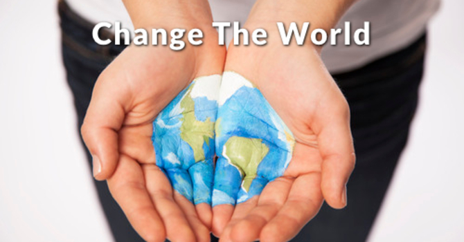 "Thank you for helping ""Change the World"" in 2015 image"